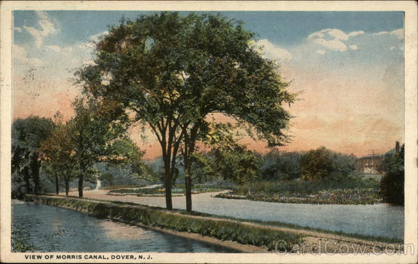 Morris Canal in Dover, New Jersey | Towpath Square | Harry Loory Furniture New Jersey